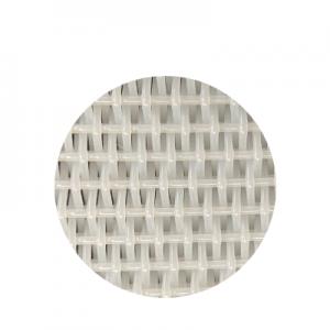 Round woven dryer fabric